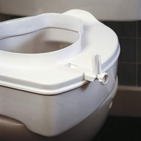 Elevador de WC económico de 10 cm de altura con tapa