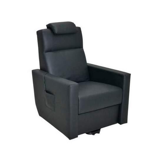 Sillón Faro de Invacare - El sillón Faro existe en versión 1 motor que permite levantar el reposapies y reclinar el respaldo en un único movimiento simultáneo.