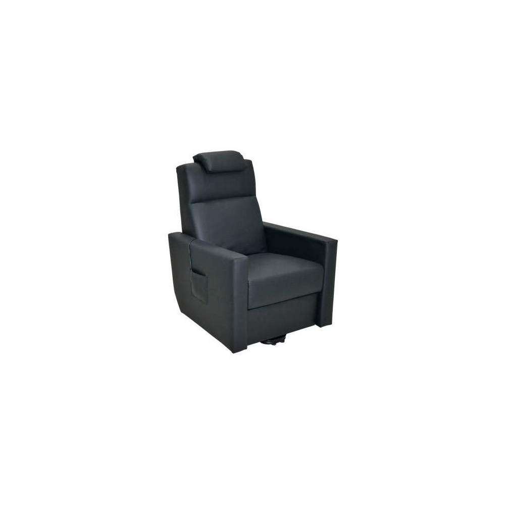 Invacare chair Lighthouse -  The chair Faro exists in version 1 motor that can lift the footrest and recline the seatback in a single simultaneous movement.