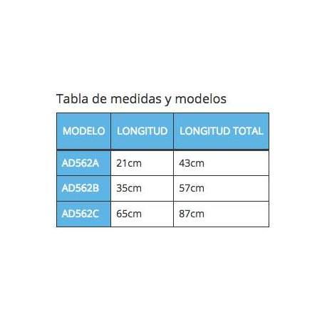 ASIDERA CON VENTOSAS ROTH 43 cm.