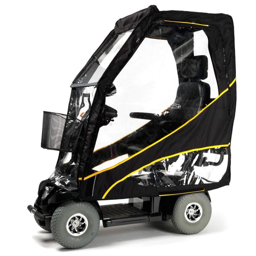 ScooterPac Protector de lluvia para Scooter - El primer protector plegable del mundo para su scooter