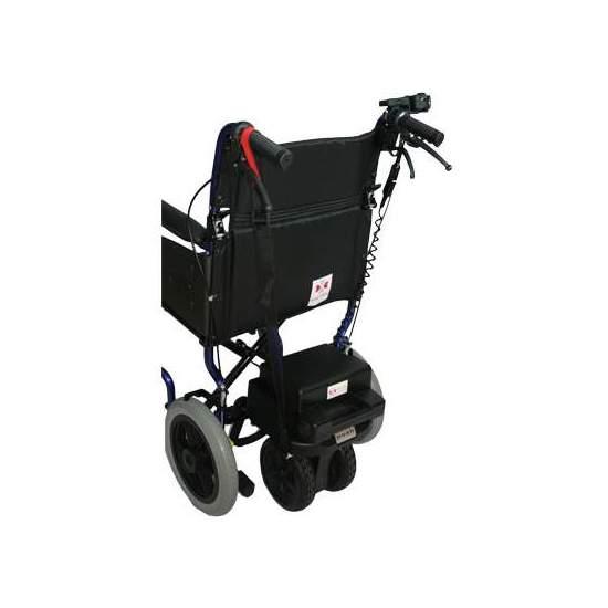 Sedia a rotelle a motore Facile 15 -  impianto elettrico di accompagnamento Facile 15