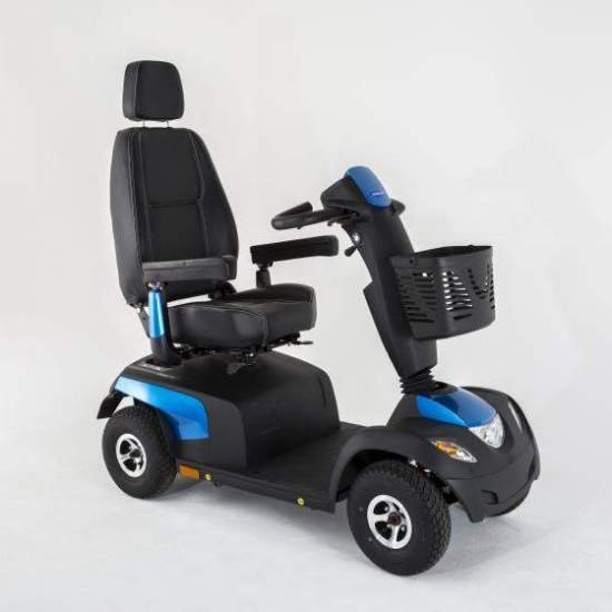 Alpine + Plus Comet Scooter Invacare -  For those who need all - terrain adventures impossible for a standard scooter, the scooter Comet Alpine + is the perfect solution.