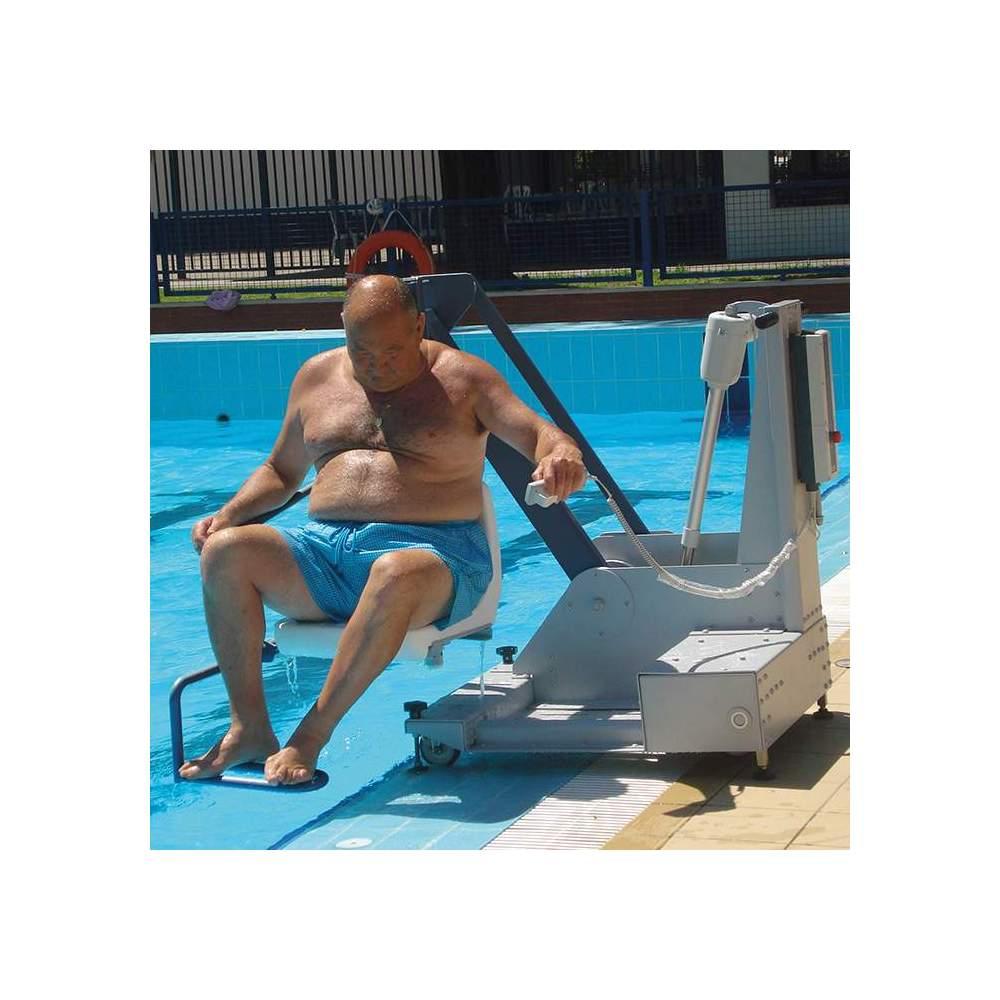 Metalu 400 water lift -  Metalu 400 swimming pool lift or crane