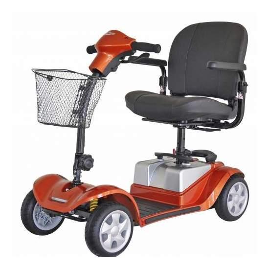 Scooter Mini Full Confort Kymco amortiguación trasera
