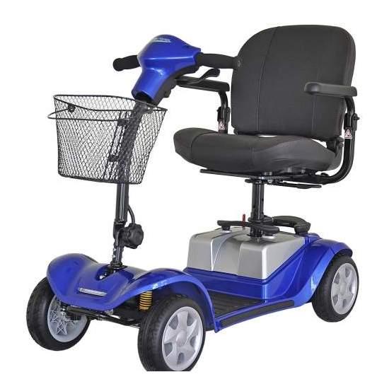 Mini Scooter Kymco suspension arrière Confort - Le nouveau scooter de mobilité KYMCO Comfort Mini a été conçu pour offrir la meilleure qualité et la portabilité, ainsi qu'un incroyable niveau de confort, de la manutention et de la suspension arrière.