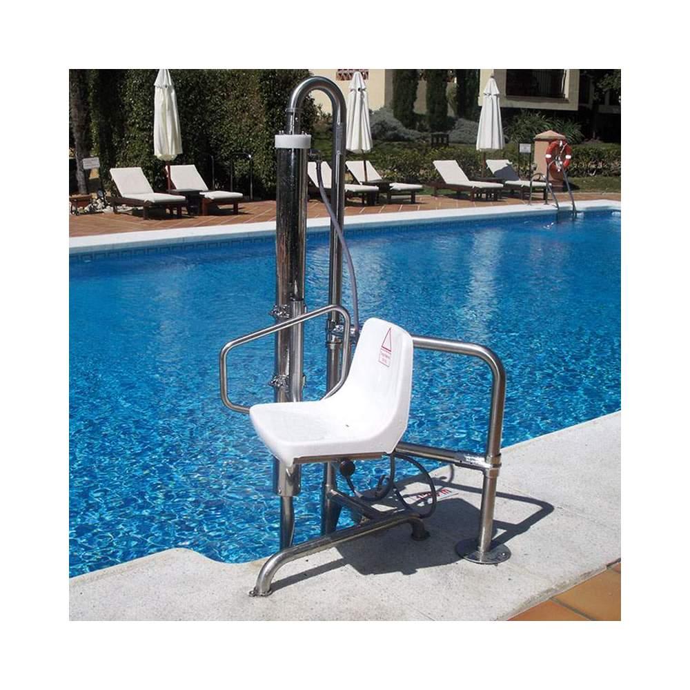 Metalu B2 Elevador hidráulico fijo - Ascensor acuático Metalu B2