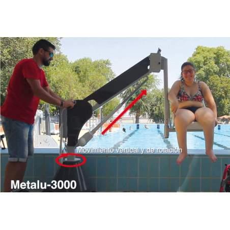 Ascensor Acuático a bateria fijo Metalu 3000