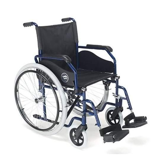 Breezy 90 Silla de ruedas plegable - Silla de ruedas Breezy 90 de acero plegable