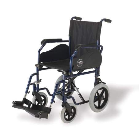 Breezy 90 Silla de ruedas de acero plegable autopropulsable