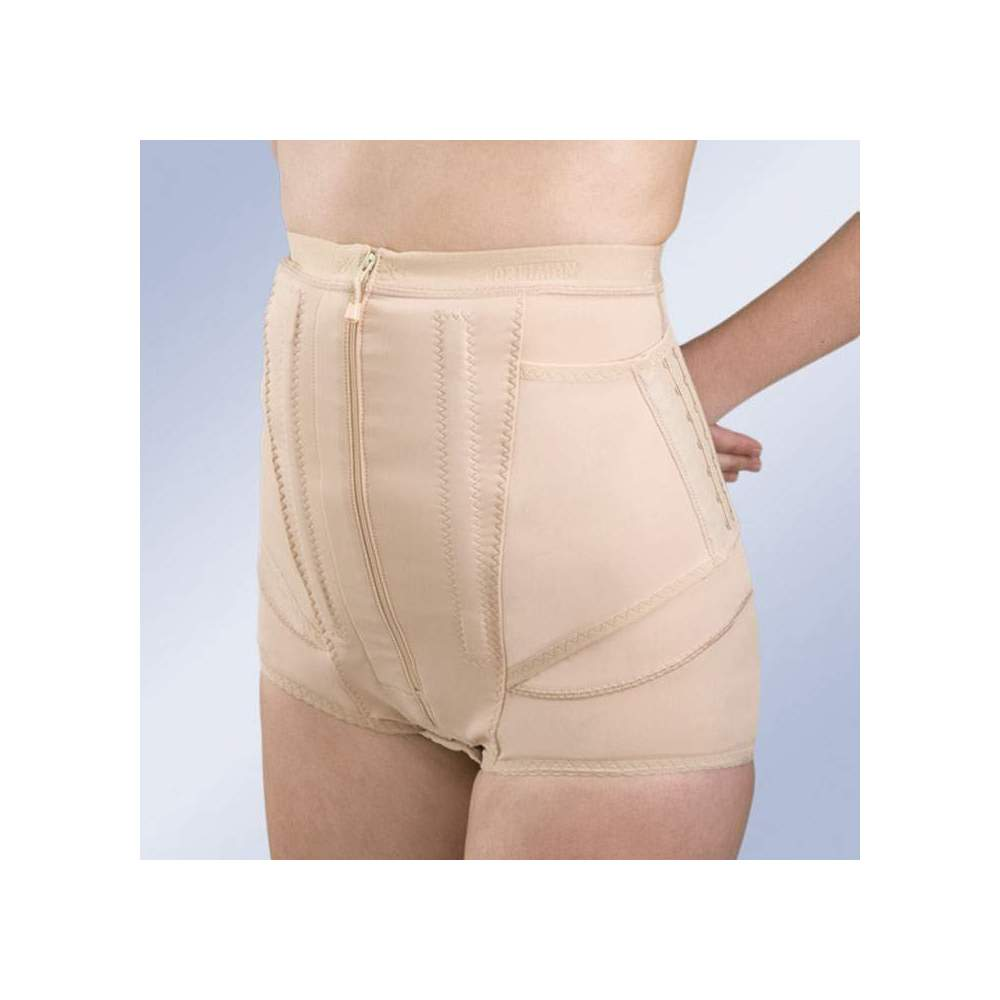 Pantaloncini corti FAJA PANTBRACE PF009 -  Un'altra forma di realizzazione della mutandina Pantbrace cintura è breve modello. Ref.: PF009, che vengono rimossi Camalès cosce lasciando questi al pube, indicata nei casi...