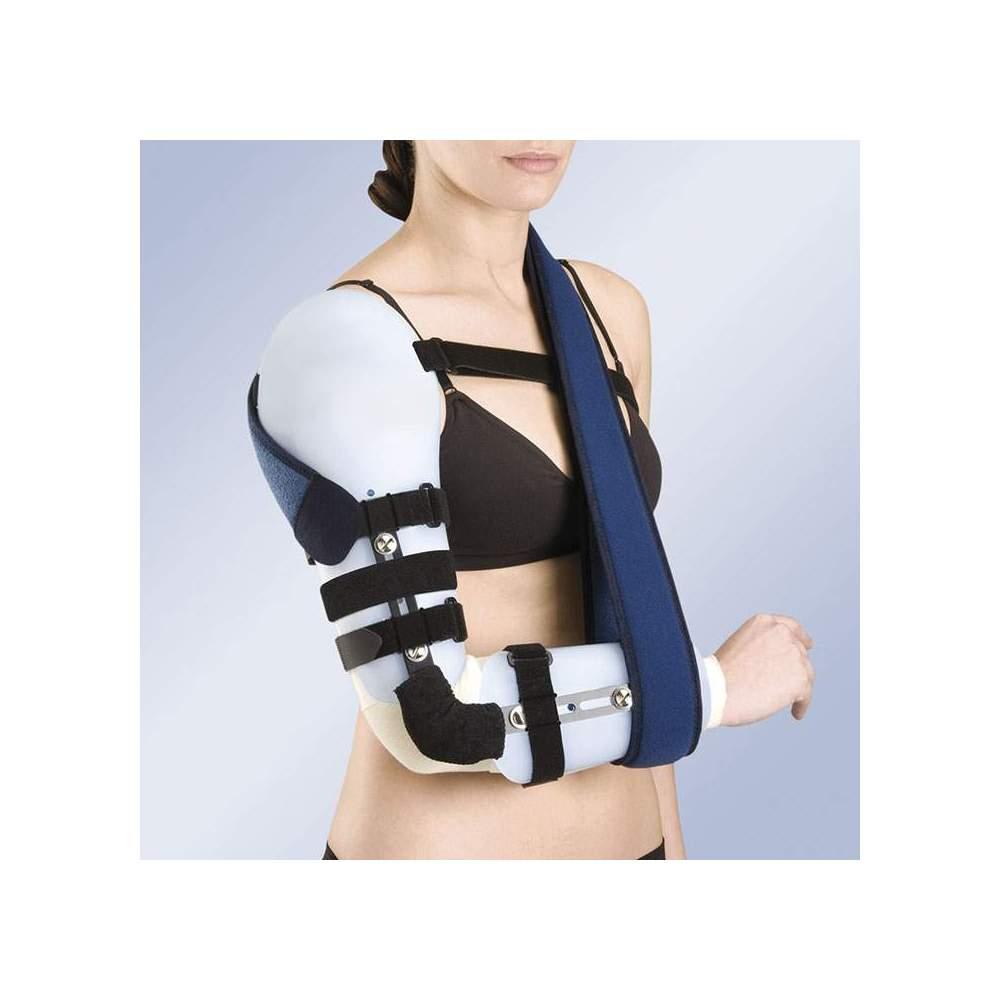 Ortesi ARTICOLATO gomito del braccio e l'avambraccio in materiale termoplastico TP-6300