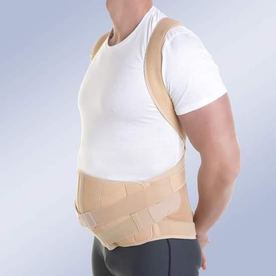 ORTESIS DORSOLUMBAR MODULAR TAYLOR abdomen con péndulo - ORTESIS DORSOLUMBAR MODULAR TAYLOR adbdomen con péndulo