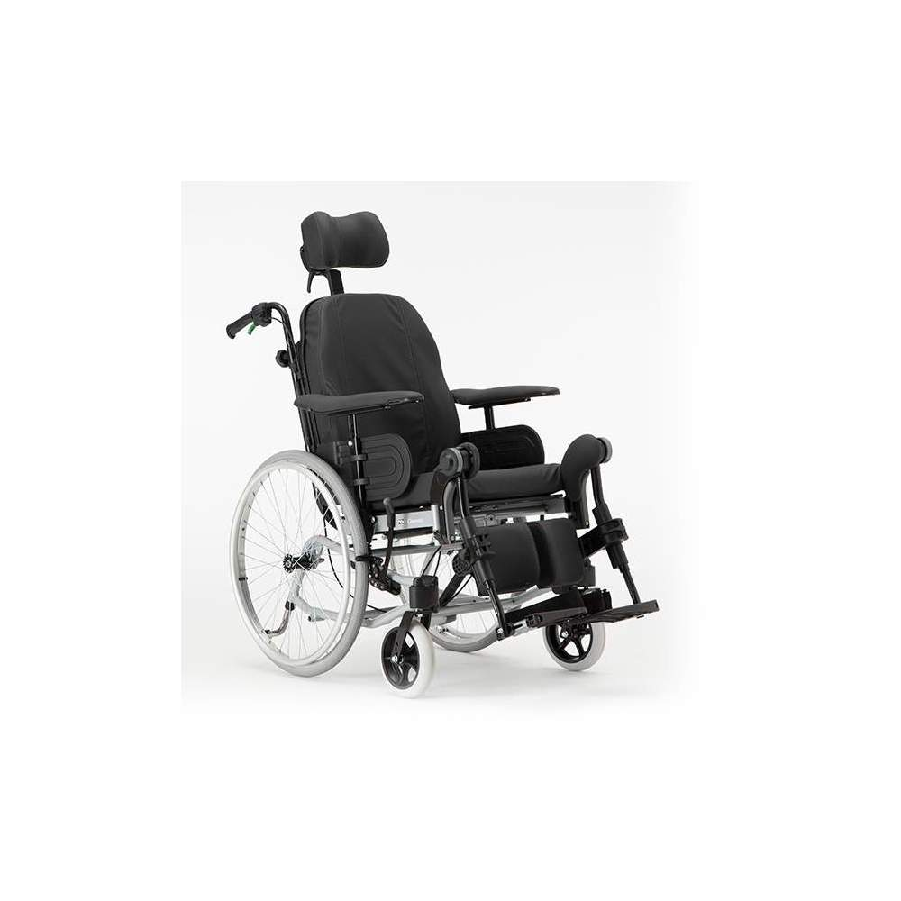 Tilting and Reclining Wheelchair for Positioning Clematis
