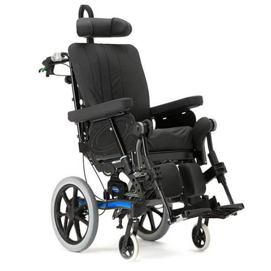 Silla Dahlia 45 - La silla de ruedas Dahlia con basculación de 45º, esta silla ofrece excelente soporte y distribución de las presiones