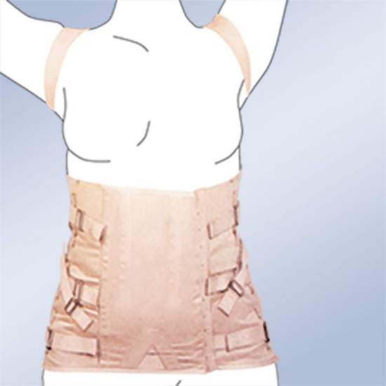 Thoraco FAJA SEMIRRIGIDA LADY corseterie 2030-S