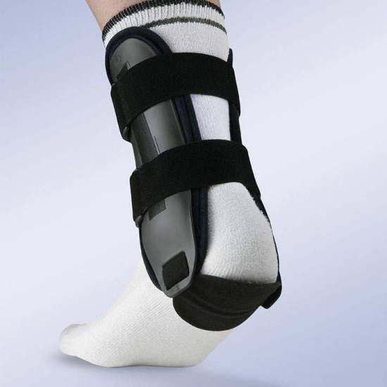 VALTEC ORLIMAN ANKLE ORTHIS -  Orthopedic bracing of ankle, rigid thermoplastic, with internal pad in / foam / foam with memory.