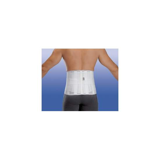 """FAJA """"LUMBITRON STABLE FORTE"""" SACROLUMBAR LTB-304 - Stretch, stays in the back, side bolsters, velcro closure"""