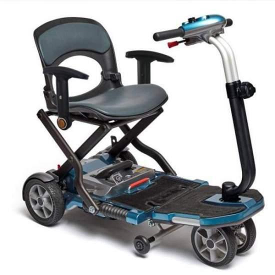 scooter pieghevole Brio S bracciolo - Scooter Brio s