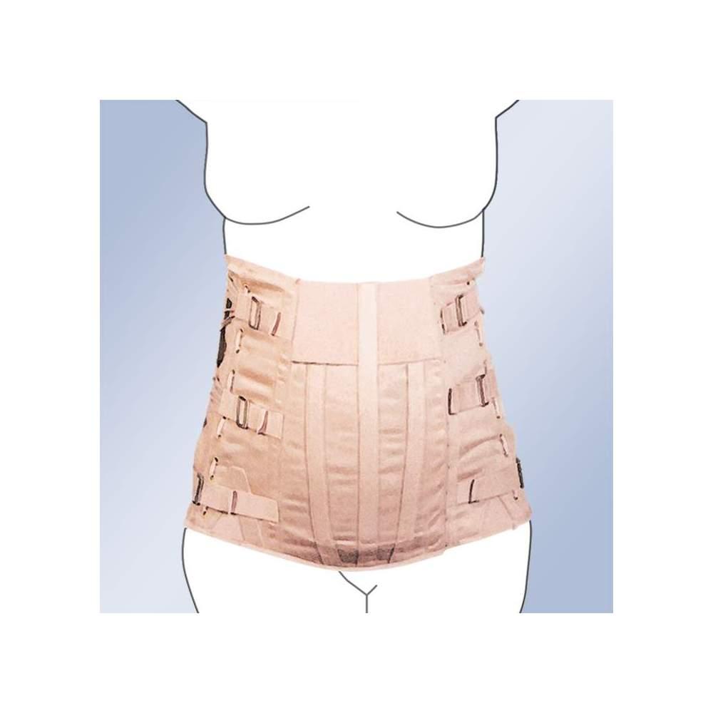 FAJA lombo SEMIRRIGIDA VENTRE Pendulo LADY corseterie -  Matériau en bande étant faite de 100% Fermeture à boucle des ceintures de coton, les baleines câble d'acier - commande latérale. Norme de fabrication et personnalisée. support...