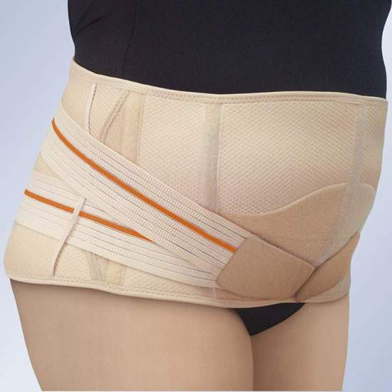 SODIUM SULROLUMBAR ABDOMEN PENDULUM 3TEX LUMBO -  Made of three-layer fabric (cotton-foam-polyester), semi-rigid and breathable, specially designed for maximum perspiration.