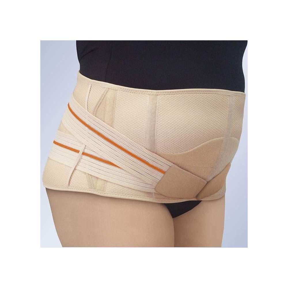 Fajã lombosacral ABDOMEN PENDULUM 3TEX Lumbo -  I adaptado de tr camadas de tecido (algodão -poliéster-espuma), semi-rígida e respirável, especialmente concebido para a máxima respirabilidade.