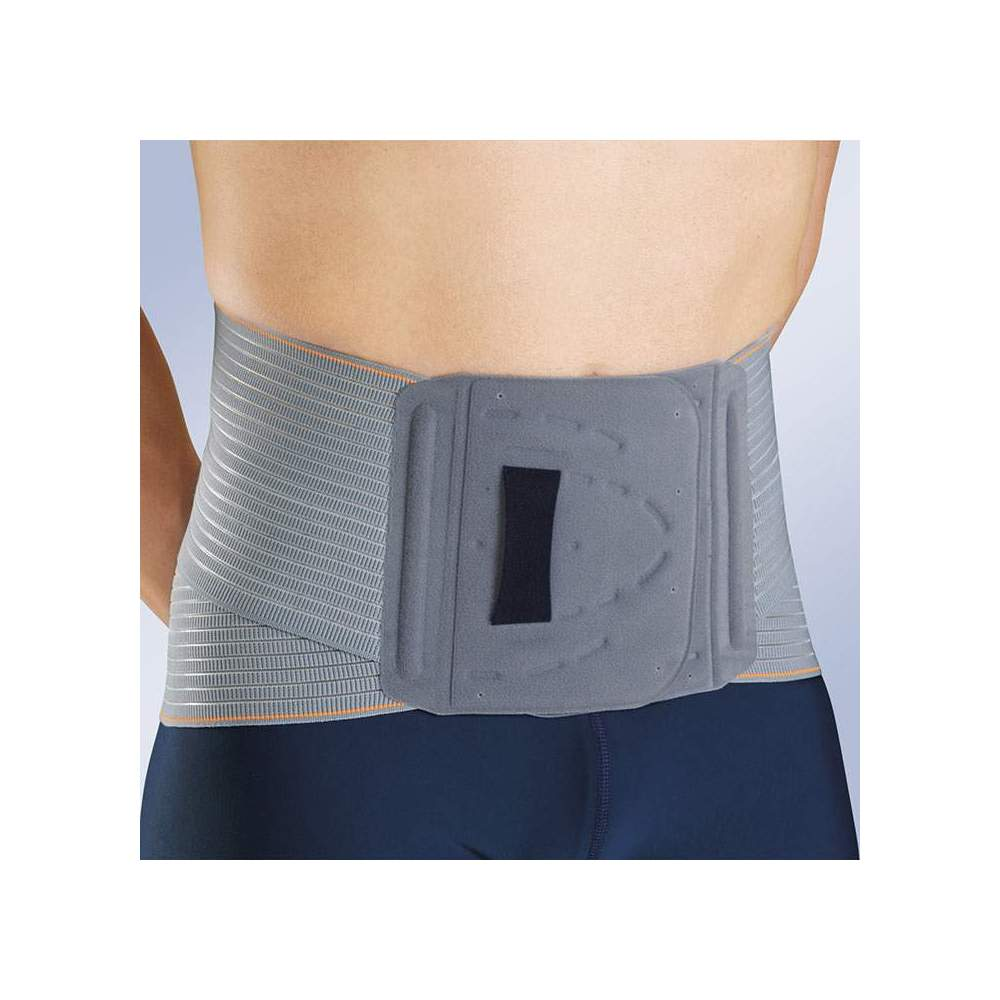 """FAJA SACROLUMBAR """"LUMBITRON ELITE""""  LTG-285 - Multiband made of breathable material, which provides a uniform compression to be made with a wireless stitching technique, avoiding annoying friction and loss of compression on..."""