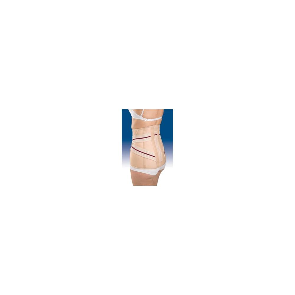 FAJA SACROLUMBAR ALTA 3TEX LUMBO 6212 - Confeccionada en tejido tricapa de ( algodón-espuma –poliéster), semirrígido y traspirable, especialmente diseñado para obtener una máxima transpiración.