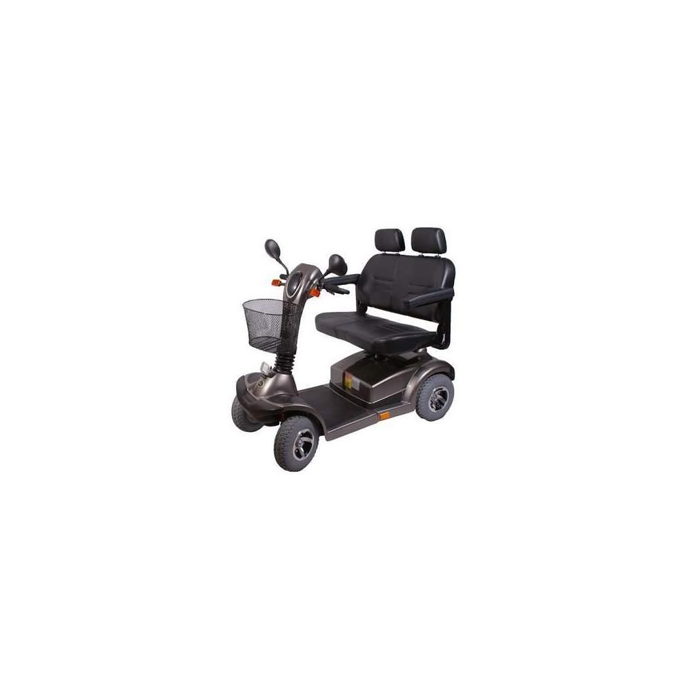 Scooter eléctrico Nico 7055 biplaza - Este modelo permite circular a dos personas en un mismo scooter con la misma anchura de un scooter individual De conducción fácil y agradable. El asiento dos en uno es comodo y...