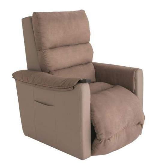 Poltrona aconchegante com encosto regulável em profundidade - O moderno e versátil sofá Cozy Up oferece maior conforto graças à sua almofada e encosto do assento extra-acolchoados e removíveis que cobre o assento e o apoio para os pés. Com duas opções de 1 motor e 2 motores