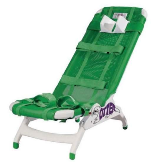 Chaise Otter pour salle de bain pour enfants grande taille - Chaise Otter pour salle de bain pour enfants pour fournir à l'enfant un soutien et un soutien postural dans la douche ou dans la baignoire. Châssis en plastique qui permet un entretien facile. Le tissu de la chaise Otter peut être...