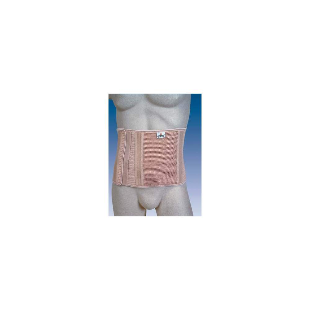 FAJA ABDOMINAL PARA OSTOMIZADOS SIN ORIFICIO ALTA COL-240 - Belt stretch fabric tailored multiband associated with rigid and Interlock for greater containment of the stoma. It has 8 flexible stays to prevent deformities of the garment....