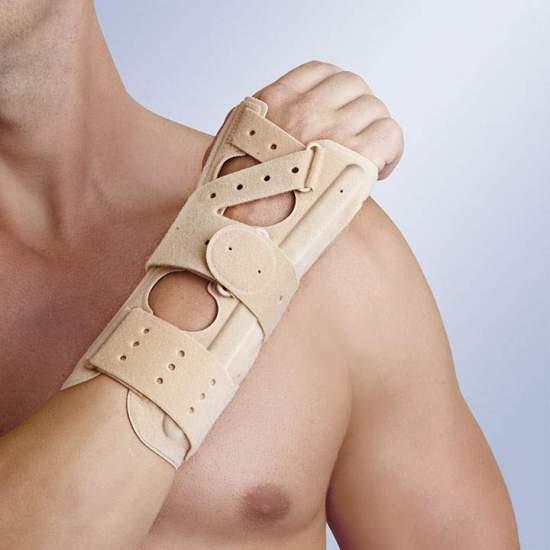 Com o pulso ambidestro palma tala Orliman - Wristlet feitos de materiais permeáveis ao ar de última geração.