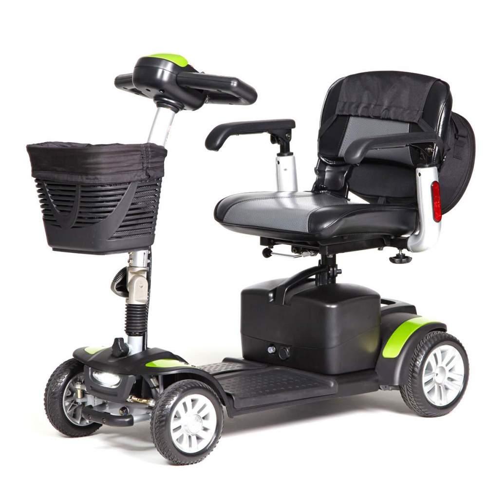 Scooter lux ECLIPSE+ plegable y desmontable - El scooter ECLIPSE+ ofrece unos grandes acabados y un equipamiento de serie excepcional. Incorpora una bolsa extraíble con asa. También viene equipado con una mochila de gran...