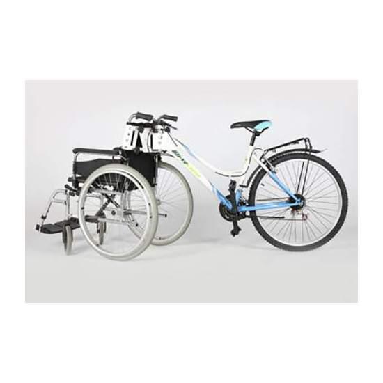 Kit Adapta - OKit Adapta, foi melhorado para melhor se adaptar a todos os tipos de cadeiras e bicicletas.