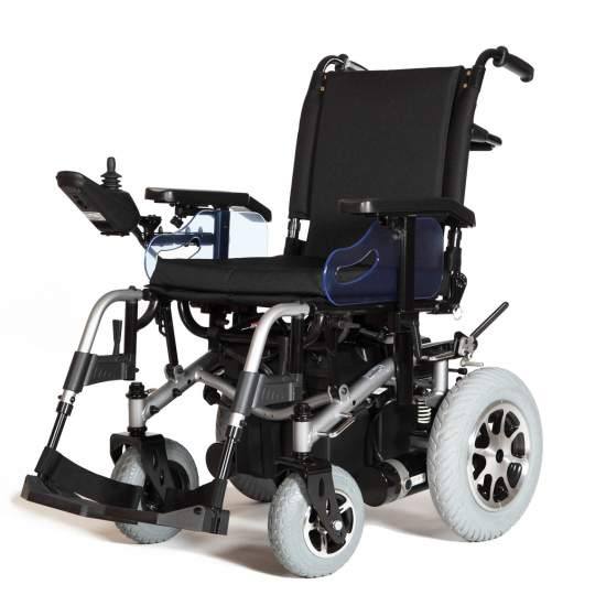 Wheelchair R200 - The R200 electric wheelchair is synonymous with reliability, versatility, power, elegance and comfort. This model of electronic chair is designed so that nothing can resist you, n i long distances, aggressive terrain, large slopes,...