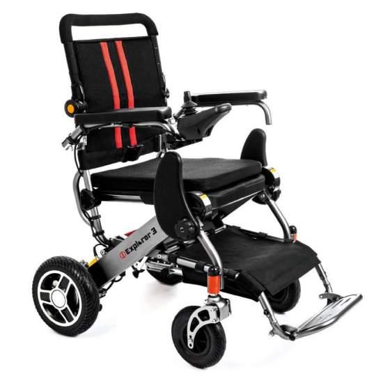 Silla i Explorer 3 - Nuova sedia a rotelle di Apex I Explorer 3