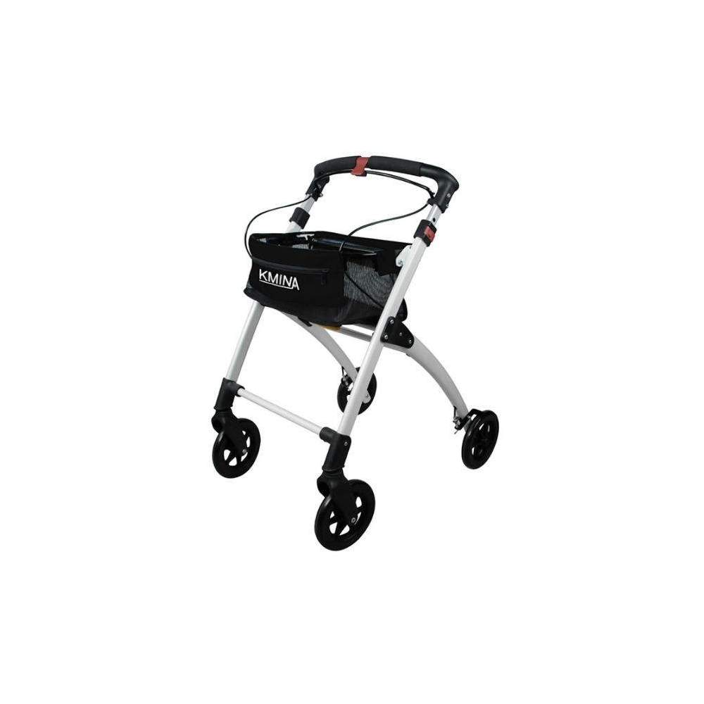 Kmina walker - The Kmina walker is lightweight, comfortable, foldable, elegant and easy to use. Its aluminum structure and its four solid wheels make it a light walker at the same time very...
