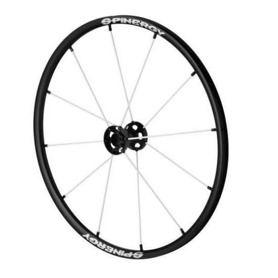 Rueda Spinergy LX - Diseñado para personas que buscan una rueda de rendimiento con un estilo único de vanguardia que ofrece un excelente acceso de alcance debajo de su silla.