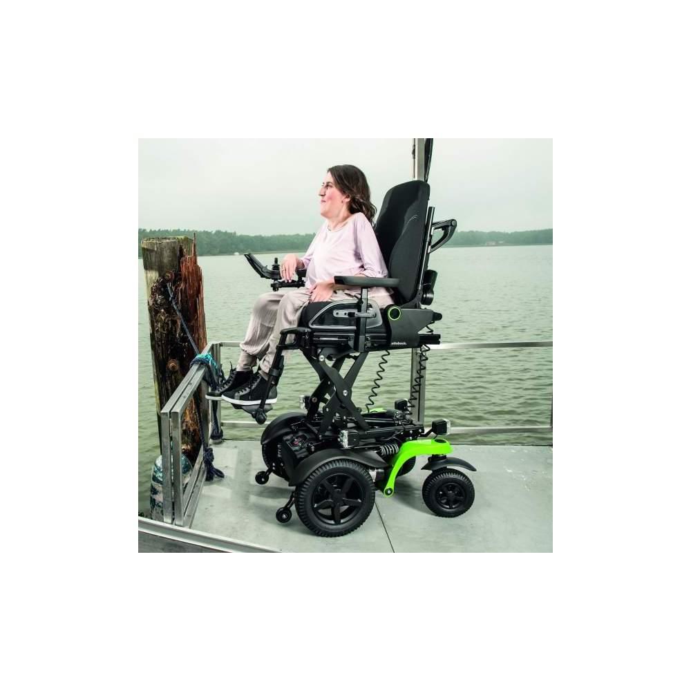 Silla de ruedas eléctrica Juvo B5 / B6 OttoBock - La Silla de Ruedas Juvo está disponible en dos tipos de tracción.