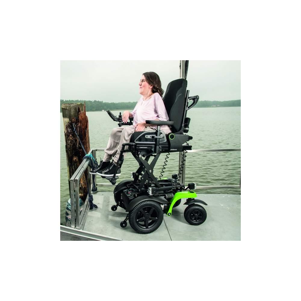 Sedia a rotelle elettrica juvo b5 b6 ottobock for Sedia elettrica youtube