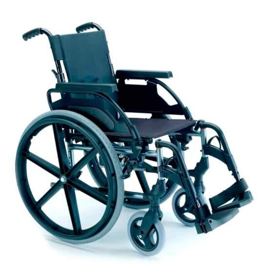 Breezy Premium Respaldo Partido Ruedas grandes - Silla de ruedas plegable Breezy Premium con respaldo partido y autopropulsable ruedas grandesLa silla de ruedas de acero con más modelos y opciones. Y con el mejor servicio