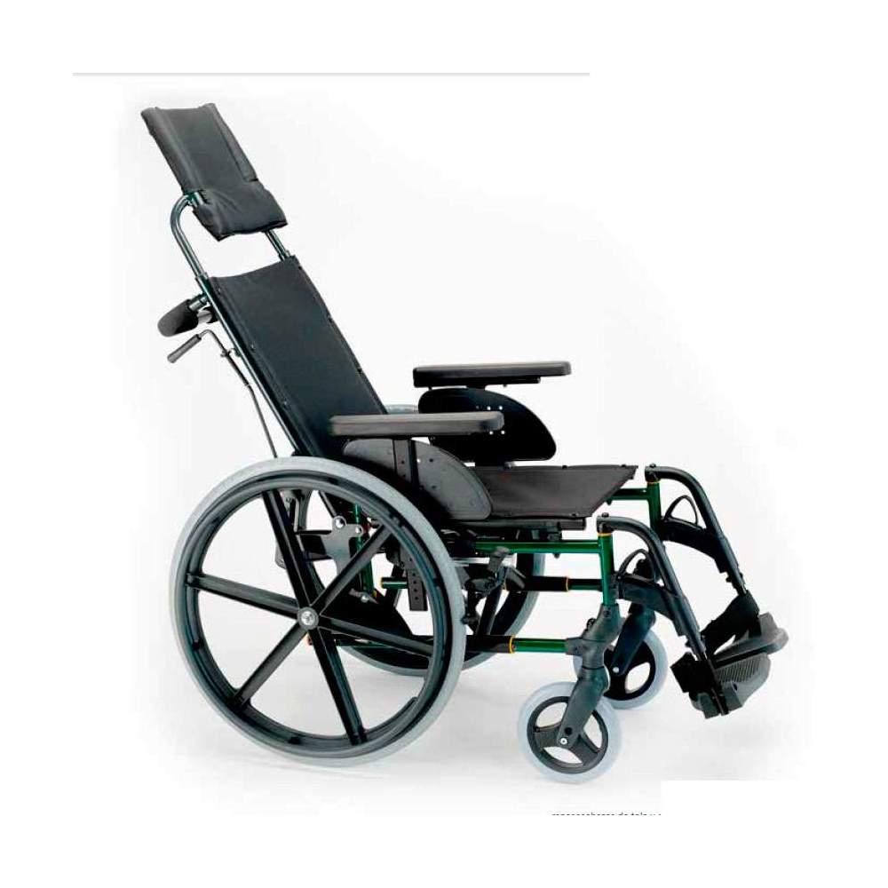 Breezy Premium Respaldo Reclinable autopropulsable - Silla de ruedas plegable Breezy Premium con respaldo reclinable y autopropulsable ruedas grandesLa silla de ruedas de acero con más modelos y opciones. Y con el mejor servicio
