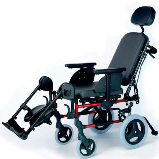 cópia do estilo ventoso da cadeira de rodas - Cadeira de alumínioEstilo BrezzyRodas pequenas ou trânsito dobrável para fácil transporte