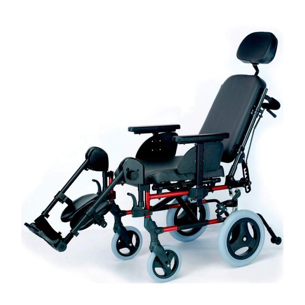 Silla Breezy Style Respaldo Reclinable - Silla de aluminio Brezzy Style Respaldo Reclinable ruedas pequeñas o de tránsito plegable para facilitar su transporte
