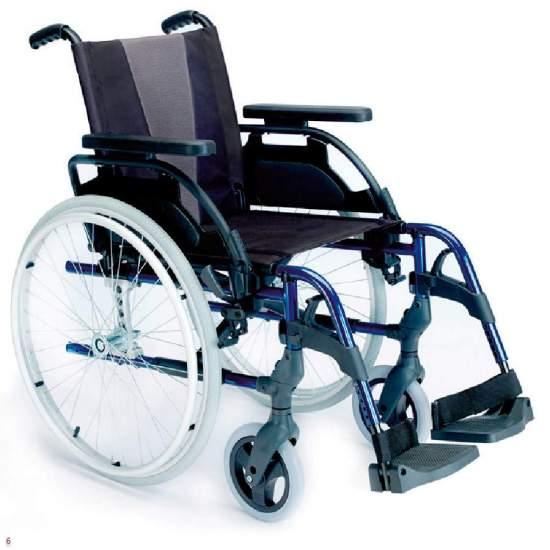 Silla Breezy Style Ruedas Grandes - Silla de ruedas plegable Breezy Style autopropulsable ruedas grandesLa silla de ruedas de aluminio con más modelos y opciones. Y con el mejor servicio
