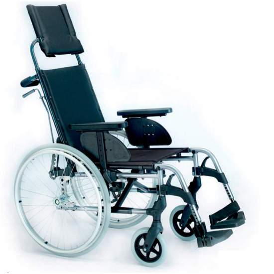 Silla Breezy Style Reclinable - Silla de ruedas plegable Breezy Style respaldo reclinable autopropulsable ruedas grandesLa silla de ruedas de aluminio con más modelos y opciones. Y con el mejor servicio