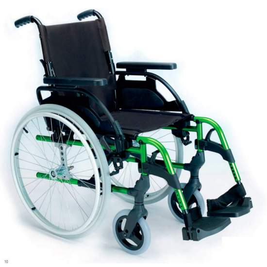 Silla de ruedas Breezy Style - Silla de ruedas plegable Breezy Style respaldo partido autopropulsable ruedas grandesLa silla de ruedas de aluminio con más modelos y opciones. Y con el mejor servicio