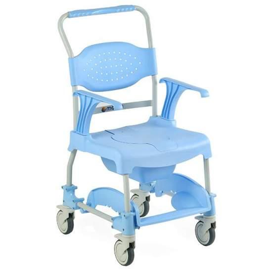 Silla de ducha y baño multifuncional Moem - La Silla de ducha Moem ha sido creada con el obejtivo de facilitar la vida diaria de las personas de edad avanzada o cualquier tipo de discapacidad.