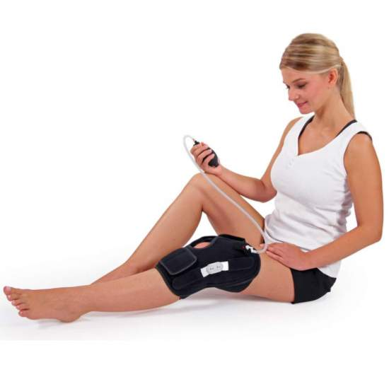 Kneepad DONJOY Perform Ice - Articulated knee brace with cold compression for acute or post-operative processes